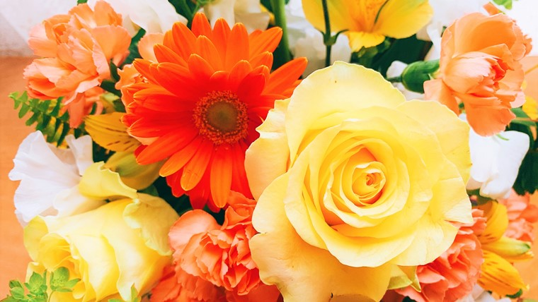 青山フラワーマーケットの花束